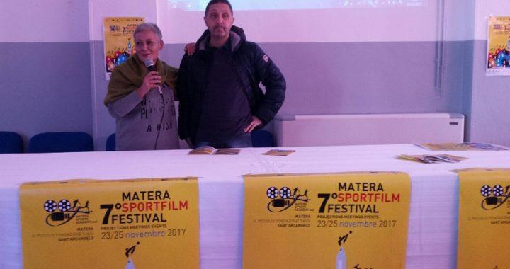 Il Matera Sport Film Festival si avvia ufficialmente con l'anteprima a Sant'Arcangelo (PZ) presso l'IPSAR G. Fortunato.