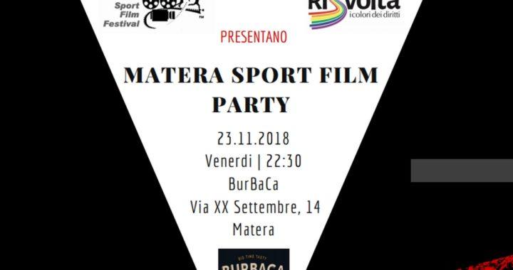 MSFF18: Matera Sport Film Party